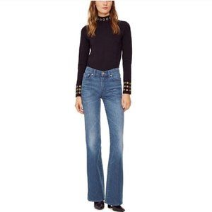 Tory Burch | Denim High Waist Flare Jean Size 26